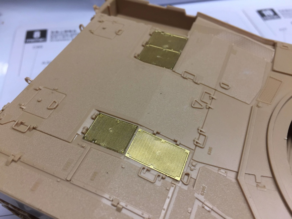 M1A2 Abrams Tusk MENG 1/35 Termine Img_9747