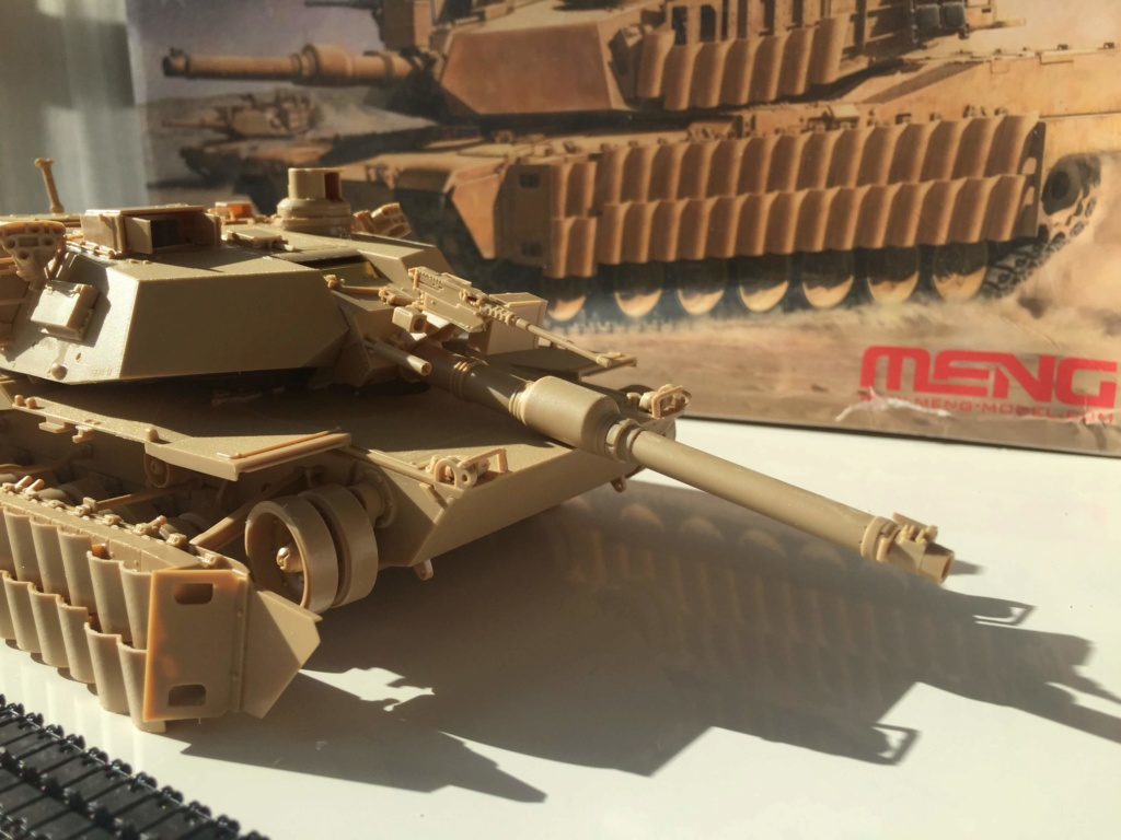 M1A2 Abrams Tusk MENG 1/35 Termine - Page 2 Img_9868