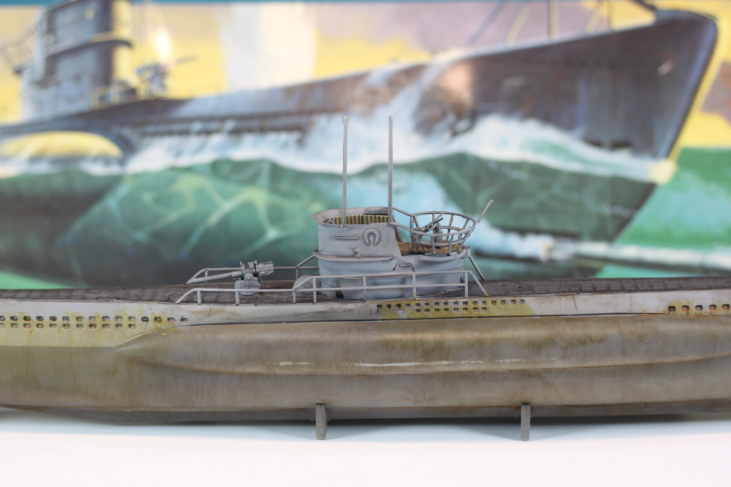 German Submarine Type VIIB U-99 Revell 1/125 Img_9924