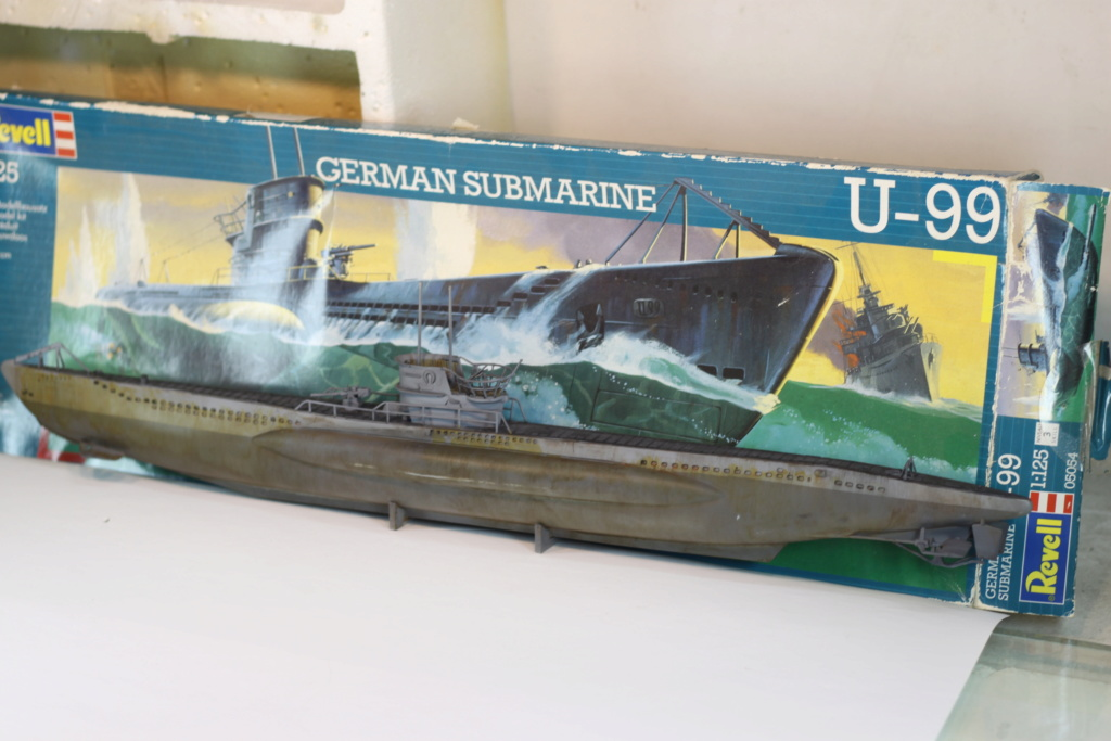 German Submarine Type VIIB U-99 Revell 1/125 Img_9926