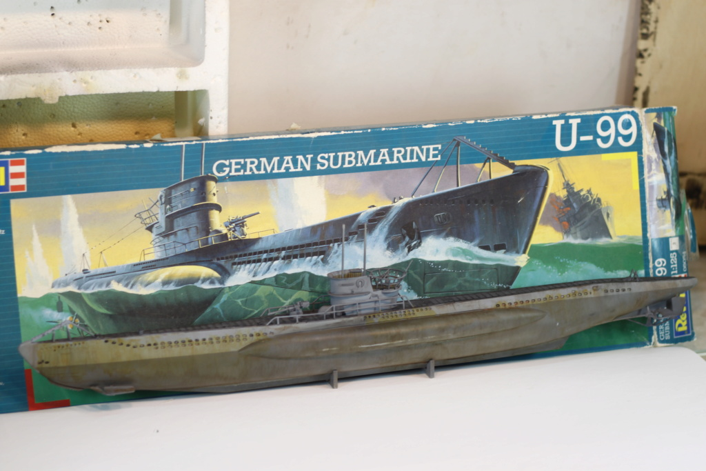 German Submarine Type VIIB U-99 Revell 1/125 Img_9927
