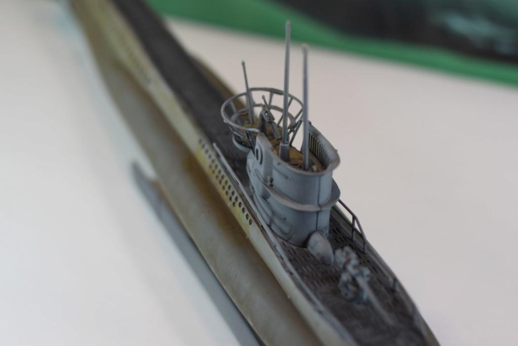 German Submarine Type VIIB U-99 Revell 1/125 Img_9928