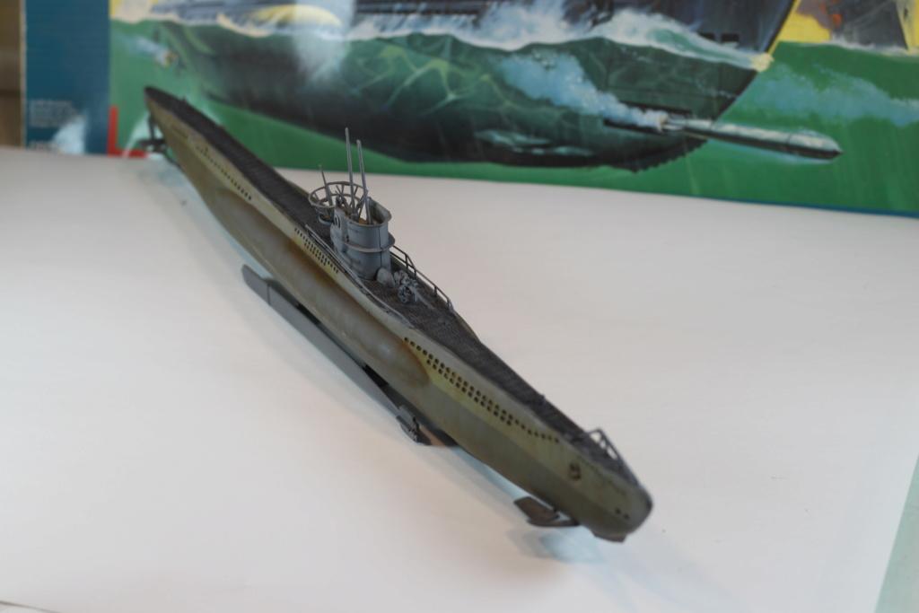 German Submarine Type VIIB U-99 Revell 1/125 Img_9929