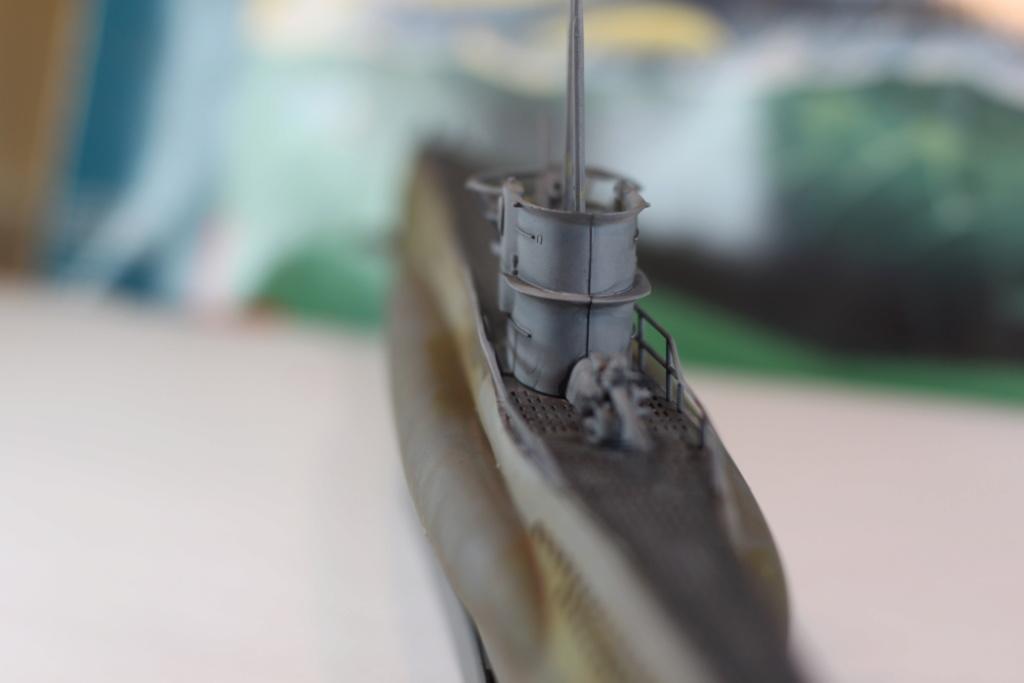 German Submarine Type VIIB U-99 Revell 1/125 Img_9935