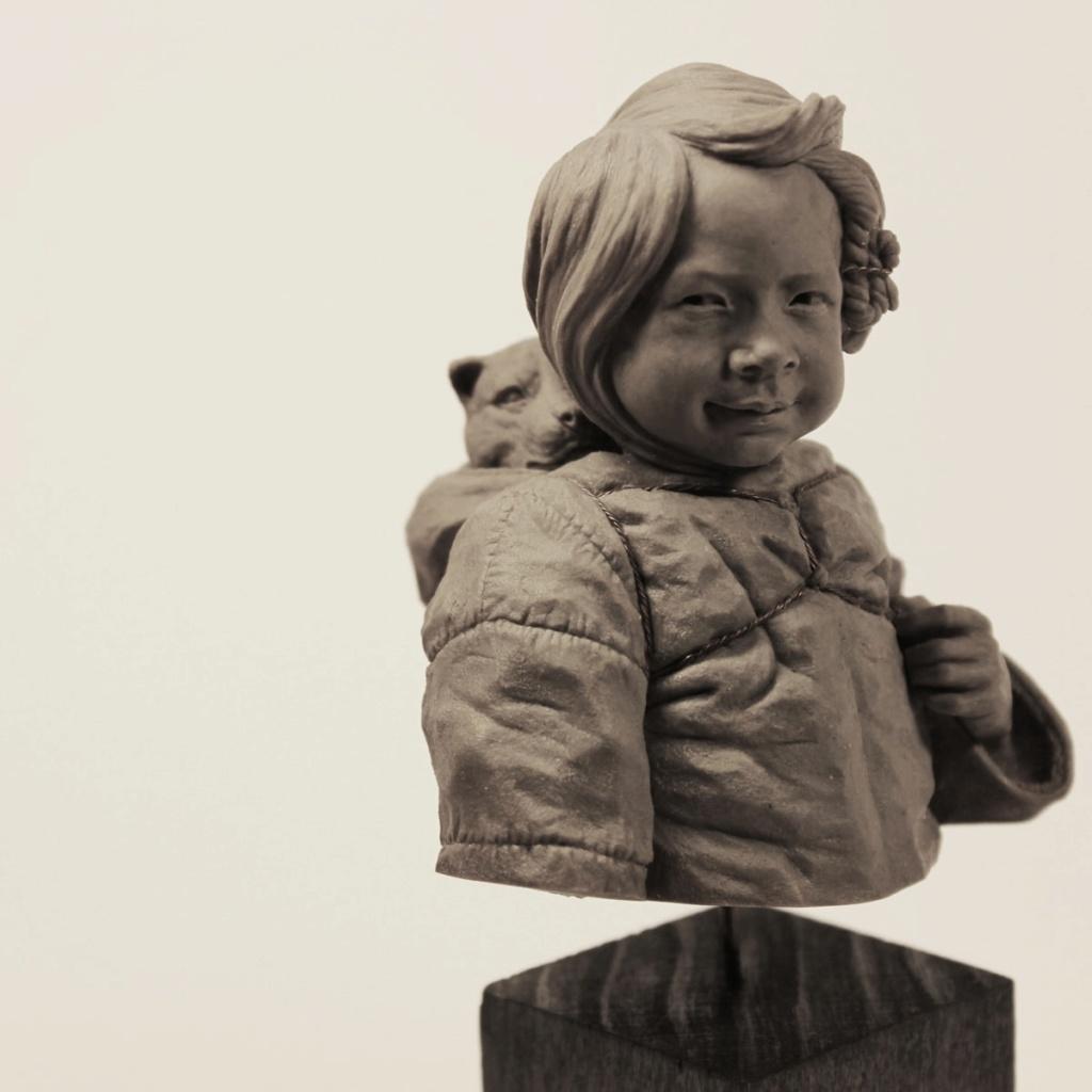 Un grand sculpteur   Romain Van den Bogaert Inuit_10
