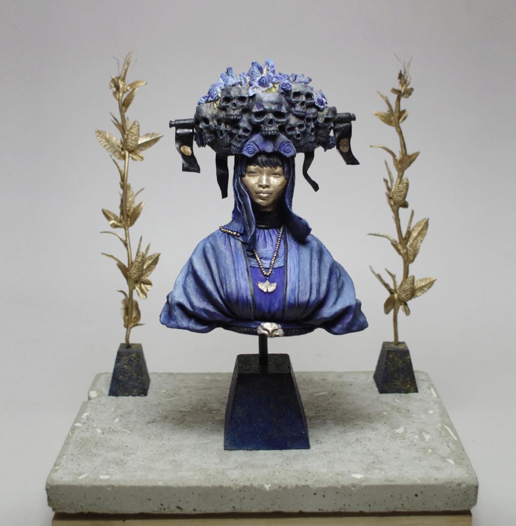 Un grand sculpteur   Romain Van den Bogaert Painte10