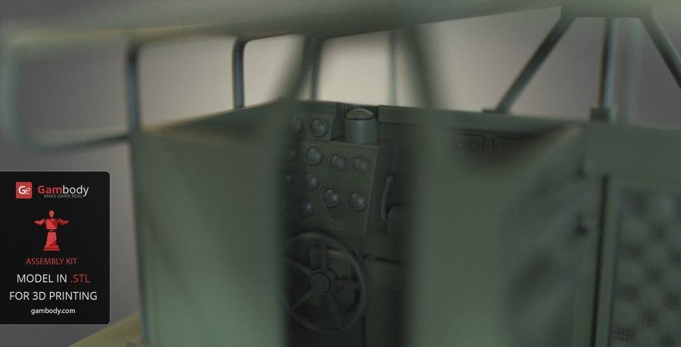 Patrouilleur fluvial  PBR MK2 1/35 - Impression 3D personnelle Patrol15