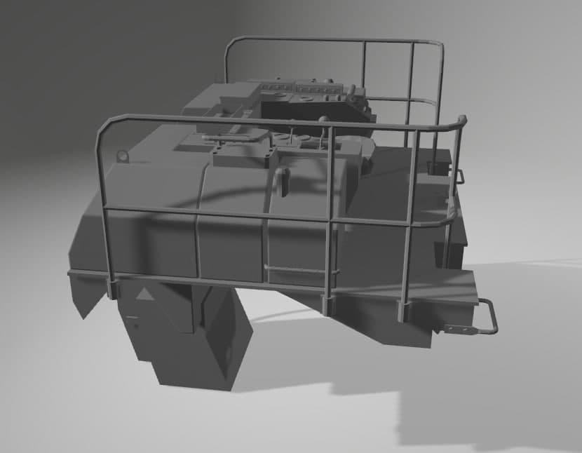 Bulldozer au 1/35 résine Photo_31
