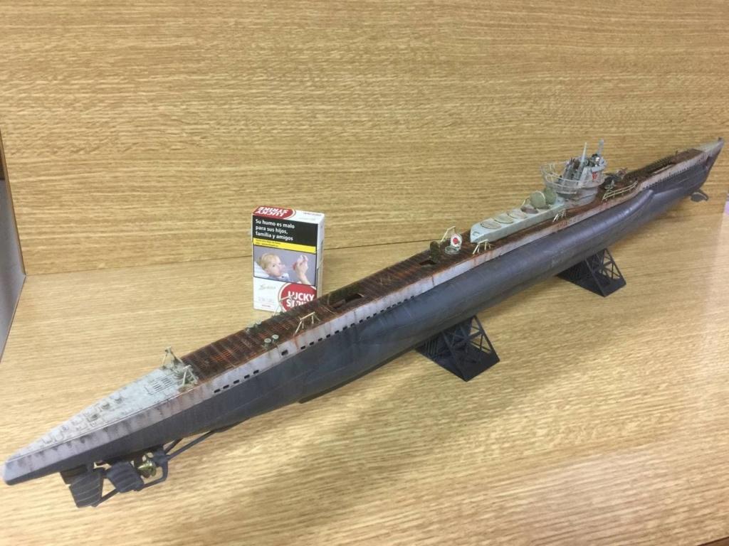Sous-marin U-Boat VIID résine 3D au 1/100 - Page 9 Photo_51