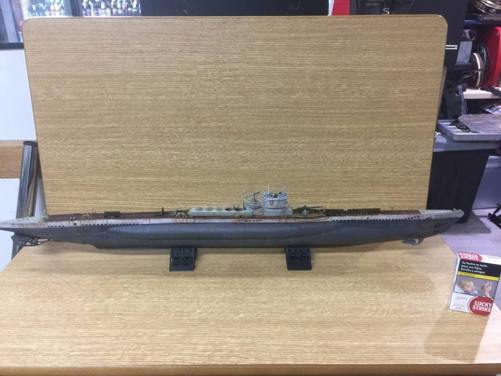 Sous-marin U-Boat VIID résine 3D au 1/100 - Page 9 Photo_52