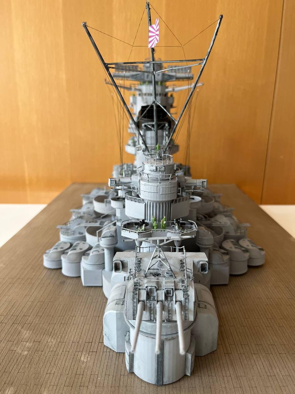 Pont central du cuirassé Japonnais Yamato 1/200  Termine - Page 3 Photo_87