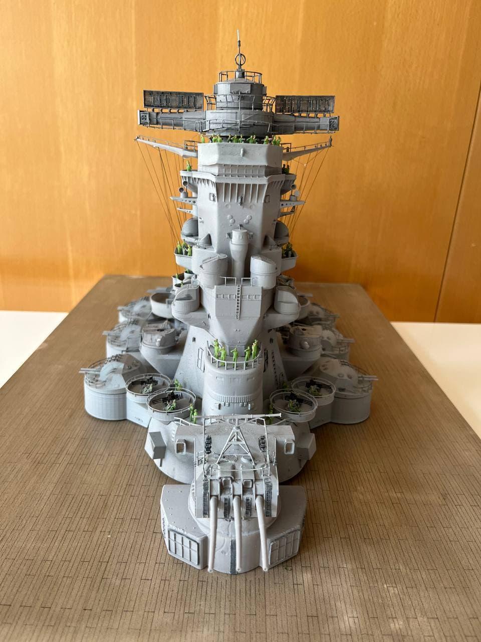 Pont central du cuirassé Japonnais Yamato 1/200  Termine - Page 3 Photo_93