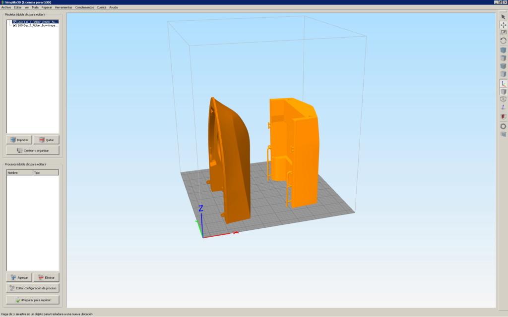 Patrouilleur fluvial  PBR MK2 1/35 - Impression 3D personnelle Piezas10