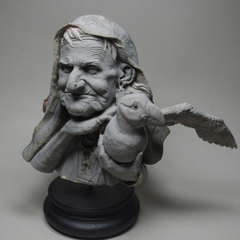 Un grand sculpteur   Romain Van den Bogaert Romain10