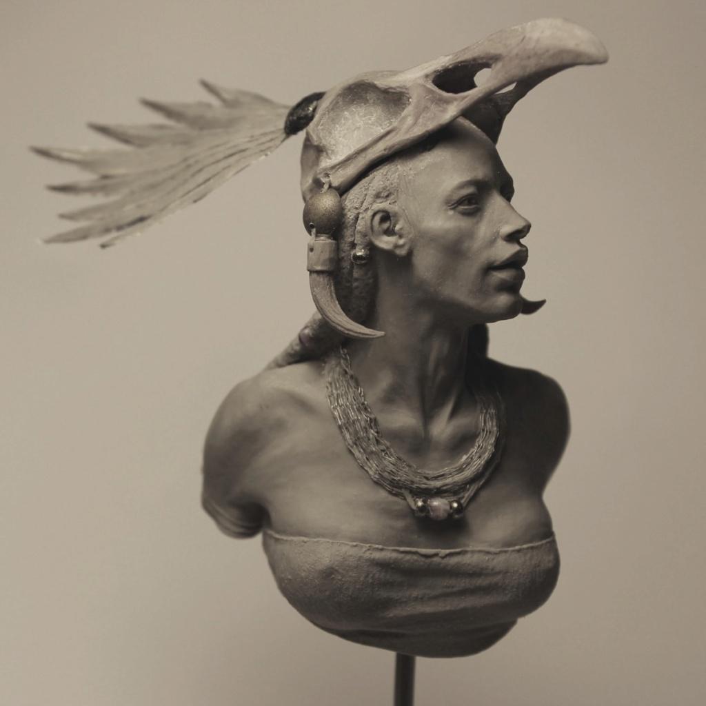 Un grand sculpteur   Romain Van den Bogaert Shaman10