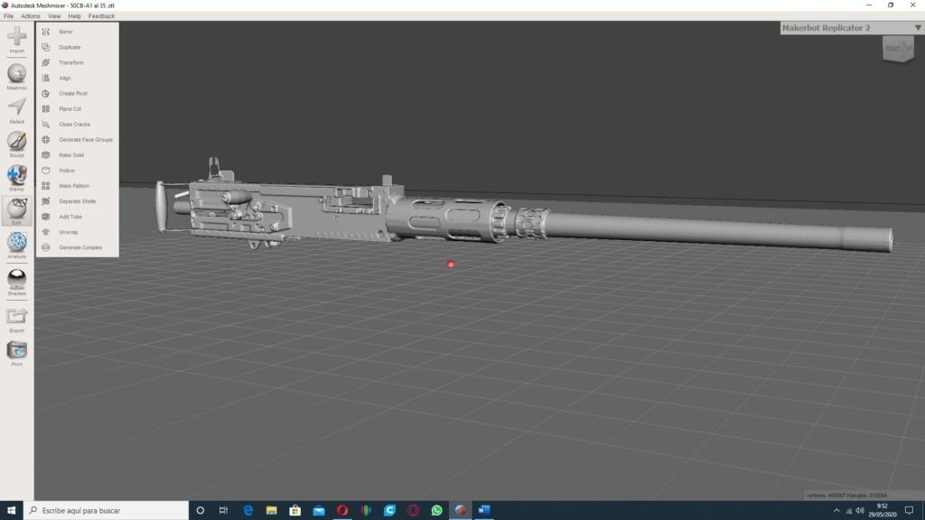 Patrouilleur fluvial  PBR MK2 1/35 - Impression 3D personnelle - Page 4 Sin_tz28