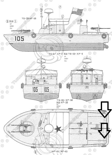 Patrouilleur fluvial  PBR MK2 1/35 - Impression 3D personnelle - Page 8 Trappe10
