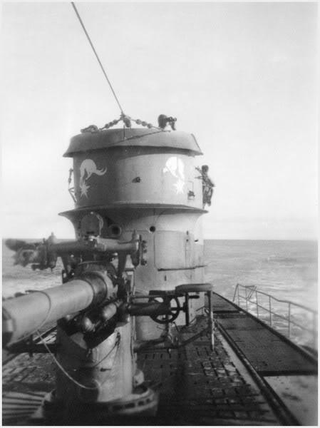 Sous-marin U-Boat VIID résine 3D au 1/100 U_67_e10