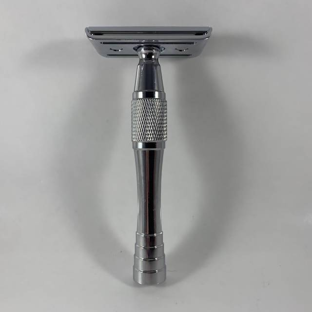 "Tampa shave company:   Chrome ""Heavyweight"" Shorty Safety Razor J4vxxt10"