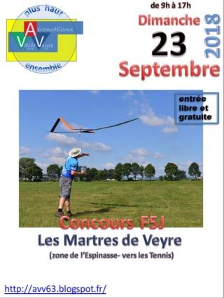 Concours F5j (AVV, les Martres de Veyre, 63) 23 Septembre  Affich10