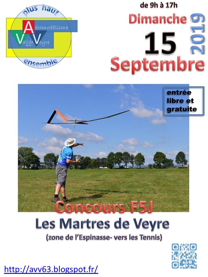 concours F5J Les Martres de Veyre 63 , AVV. 15 Septembre  Concou10