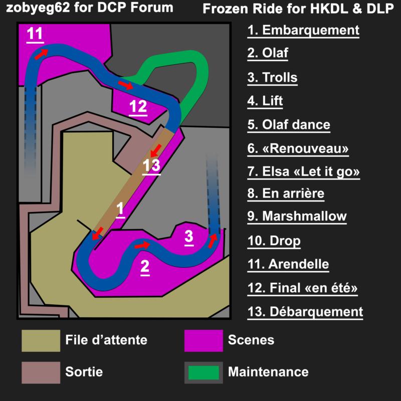 [Parc Walt Disney Studios] Nouvelle zone La Reine des Neiges  (202?) > infos en page 1 - Page 24 1_plan13
