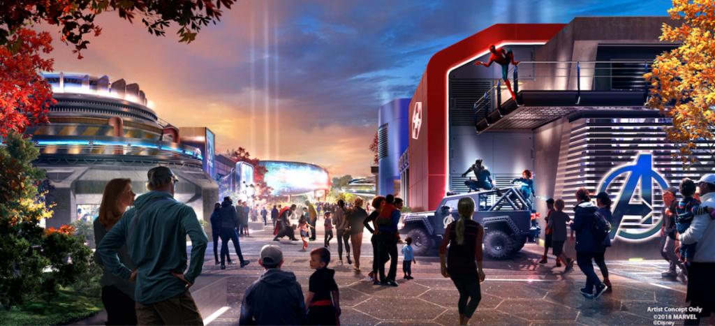 [Parc Walt Disney Studios] Nouvelle zone Marvel (2020 ou 2021) - Page 15 Captur10
