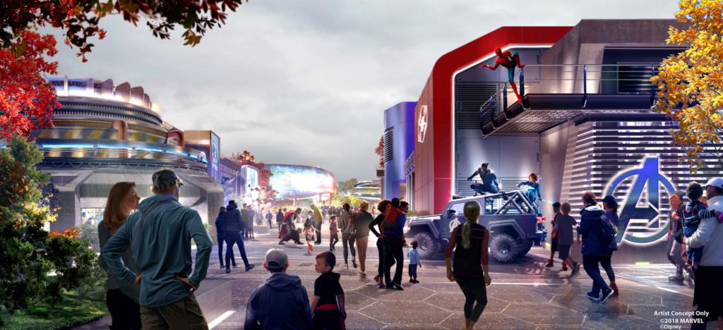 [Parc Walt Disney Studios] Nouvelle zone Marvel (2020 ou 2021) - Page 16 Marvel12