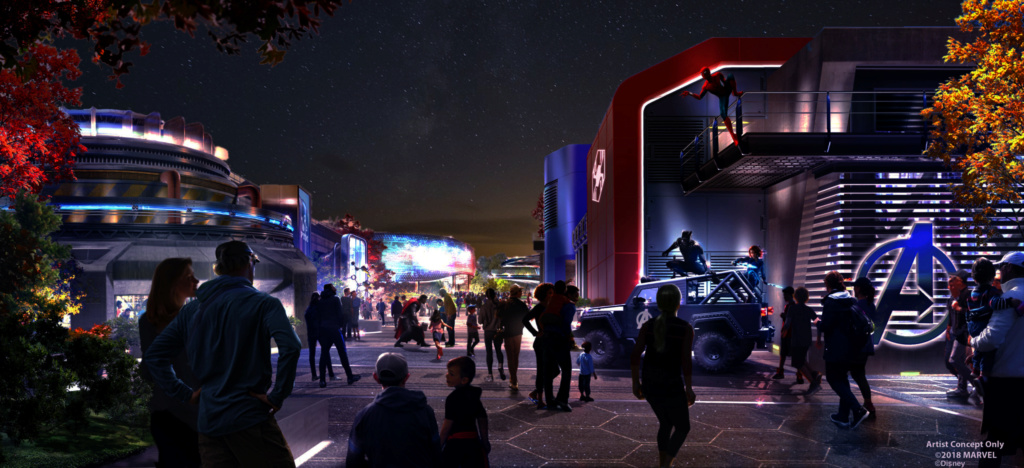 [Parc Walt Disney Studios] Nouvelle zone Marvel (2020 ou 2021) - Page 16 Marvel13