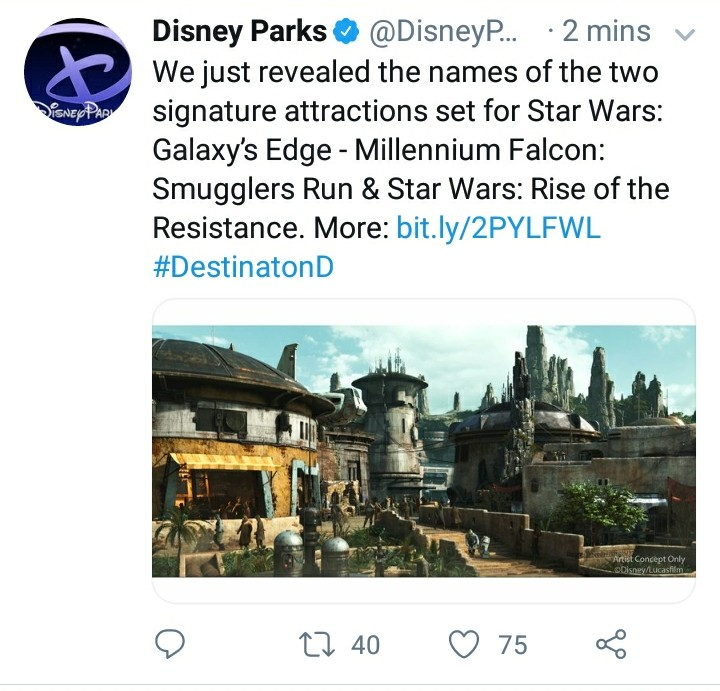 [Disneyland Park] Star Wars: Galaxy's Edge (31 mai 2019) - Page 21 Screen21