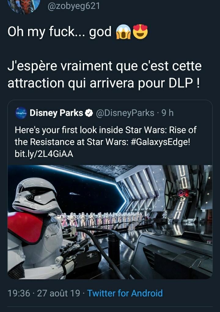 Les comptes parodiques sur Disneyland Paris Screen45