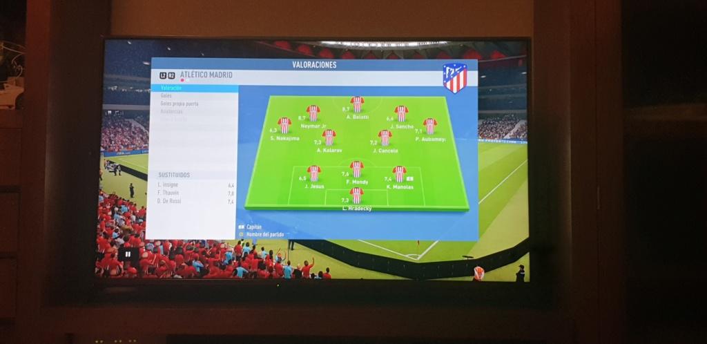 Amistoso Atletico de Madrid 1-2 Napoles, 07/01/2019 15468912