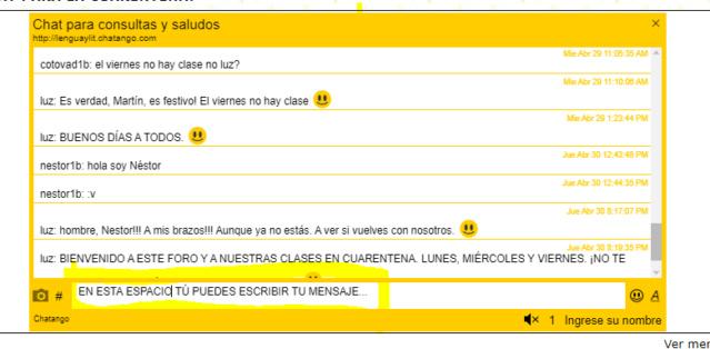 TUTORIAL DEL CHAT DE ESTE FORO Chat11