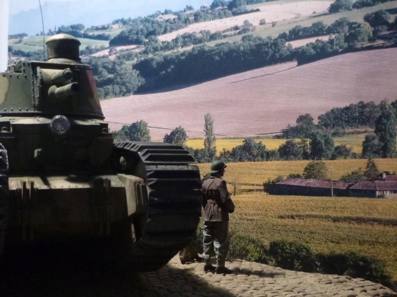 FRANCE 1940 char 2C P1040930