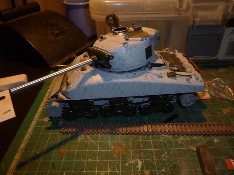 Sherman M4 surblindé Allemagne 1945 P1040934