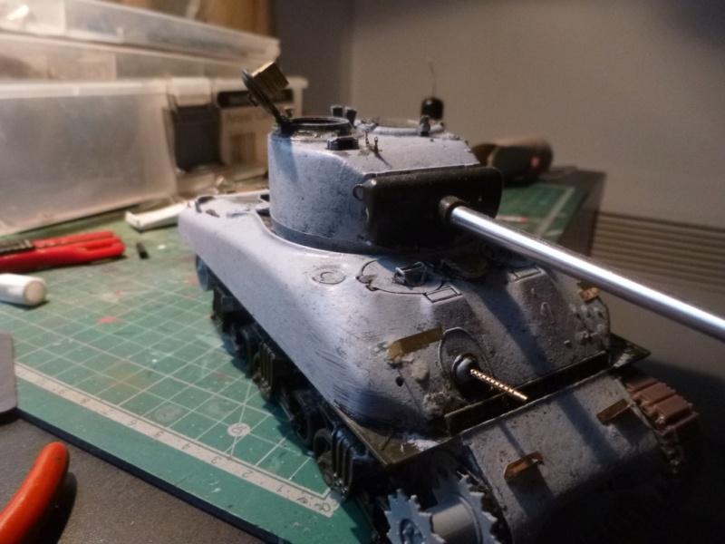 Sherman M4 surblindé Allemagne 1945 P1040936