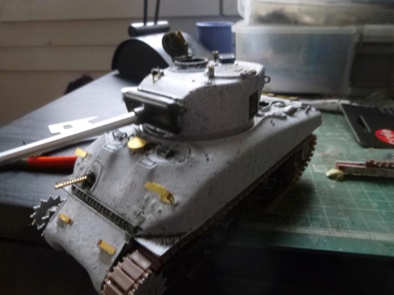 Sherman M4 surblindé Allemagne 1945 P1040937