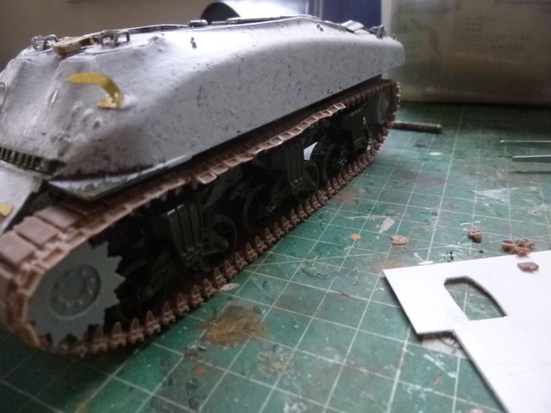 Sherman M4 surblindé Allemagne 1945 P1040938