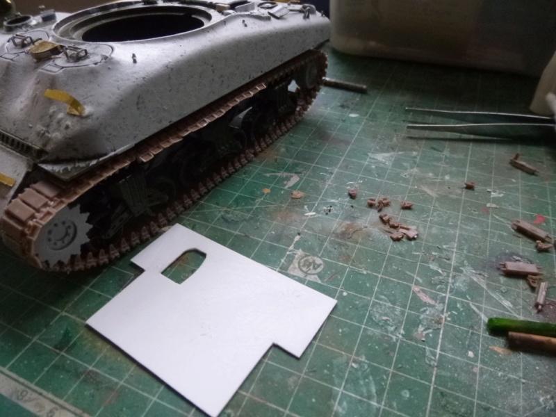 Sherman M4 surblindé Allemagne 1945 P1040939