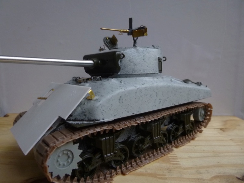 Sherman M4 surblindé Allemagne 1945 P1040940