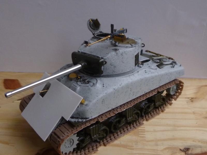 Sherman M4 surblindé Allemagne 1945 P1040941