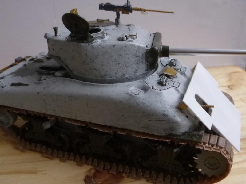 Sherman M4 surblindé Allemagne 1945 P1040942