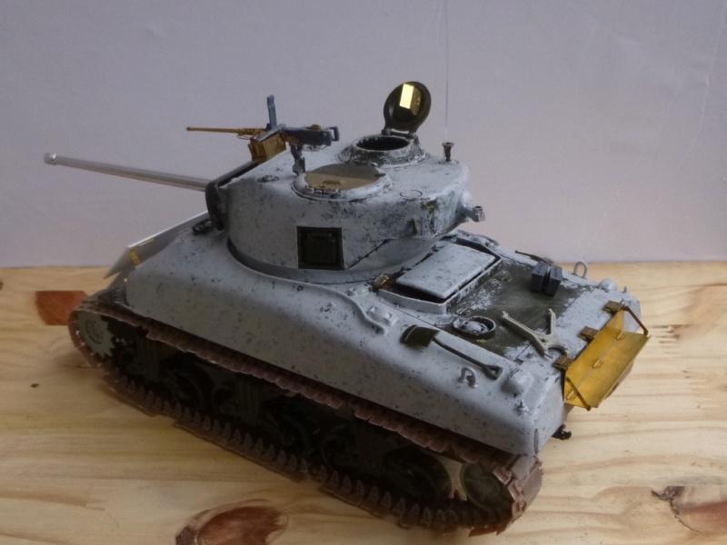 Sherman M4 surblindé Allemagne 1945 P1040944