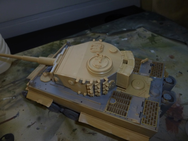 Tigre 1 Academy 1/35 Groupe Fehrman Allemagne 1945 P1050113
