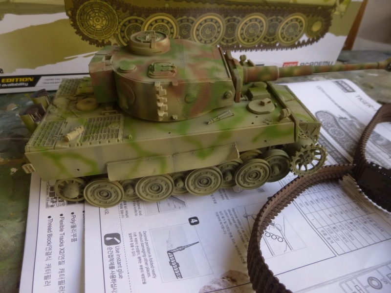 Tigre 1 Academy 1/35 Groupe Fehrman Allemagne 1945 P1050117