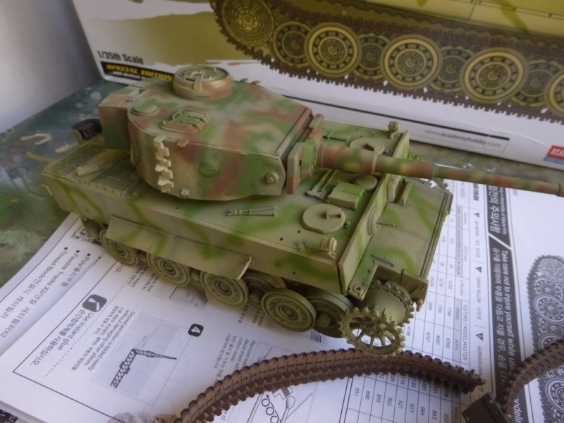 Tigre 1 Academy 1/35 Groupe Fehrman Allemagne 1945 P1050118