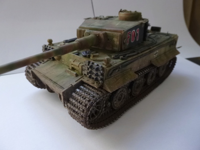 Tigre 1 Academy 1/35 Groupe Fehrman Allemagne 1945 P1050121