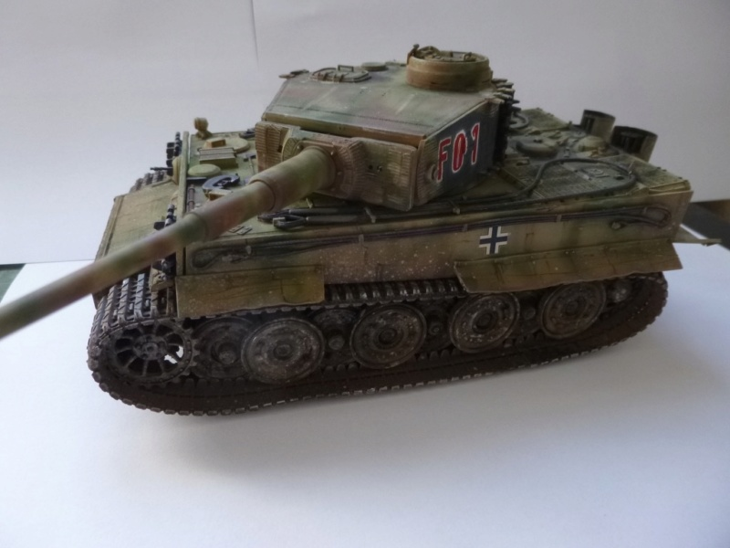 Tigre 1 Academy 1/35 Groupe Fehrman Allemagne 1945 P1050122
