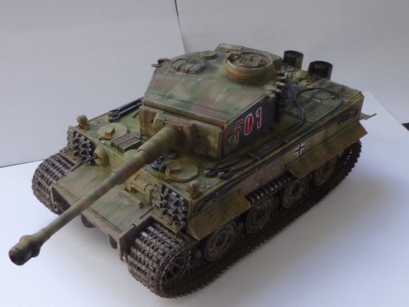 Tigre 1 Academy 1/35 Groupe Fehrman Allemagne 1945 P1050123