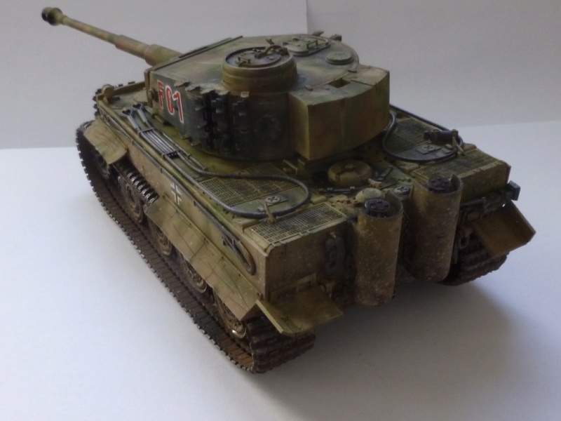 Tigre 1 Academy 1/35 Groupe Fehrman Allemagne 1945 P1050124
